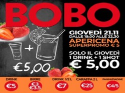 Il Giovedì DRINK + SHOT € 5 - BOBO CHECK POINT