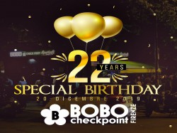 20 Dicembre SPECIAL BIRTHDAY - BOBO CHECK POINT