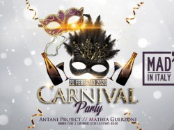 CARNIVAL PARTY - MAD' IN ITALY