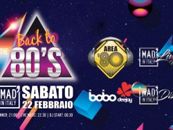 BACK TO THE 80'S - MAD' IN ITALY