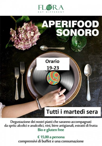 APERIFOOD SONORO - FLORA EAT DIFFERENT