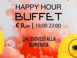 Happy Hour Buffet € 8 - 100 GRADI
