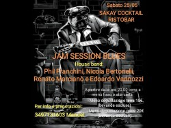 25/5 JAM SESSION BLUES - SAKAY COCKTAIL RISTOBAR