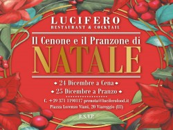 MENU' NATALE 2019 - LUCIFERO RESTAURANT & COCKTAIL